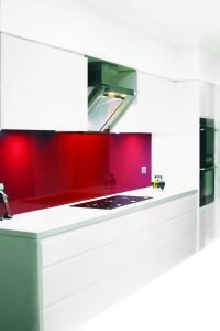 Monaco Metallic Kitchen Splashback
