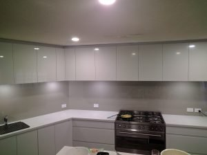 Platinum Kitchen Splashback