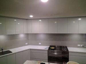 Platinum Kitchen Splashback